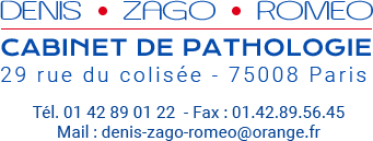 Denis Zago Roméo – Cabinet de pathologie à Paris